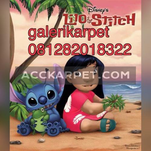 Karpet Lilo & Stitch 3