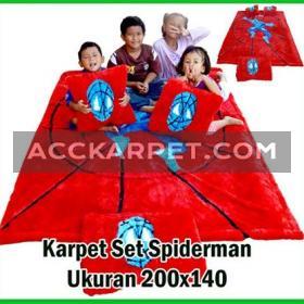 Karpet Spiderman 1